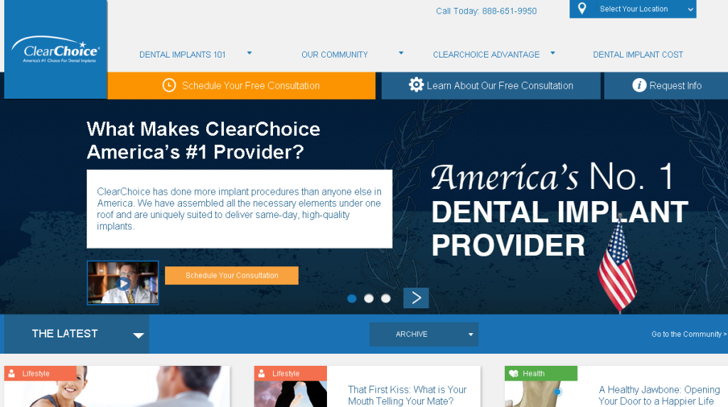 clearchoice screen